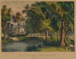 Sleepy Hollow Bridge. Tarrytown. New York.