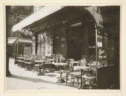 Café - Avenue de la Grande Armée