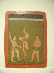 Raga Shosh : leaf from a Ragamala