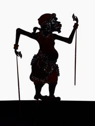 Shadow Puppet (Wayang Kulit) of Arjo