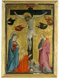 The Crucifixion with the Virgin, Saint Mary Magdalene and Saint John the Evangelist
