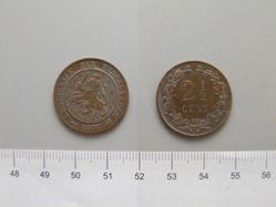 2 1/2 Cent of William III of the Netherlands