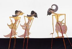 Shadow Puppet (Wayang Kulit) of Sumbadra, from the set Kyai Drajat