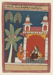 Ragini Patamanjari, from a Garland of Musical Modes (Ragamala) manuscript
