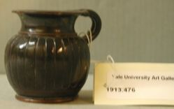 Black-glazed cup