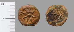 Copper Coin of Alexander Jannaeus from Jerusalem