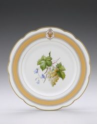 Plate from the Ulysses S. Grant Dinner Service