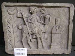 Modern plaster cast of Arsu Riding Camel