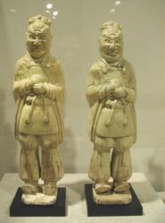 Pair of Tomb Guardian Warriors (Zhenmuyong)