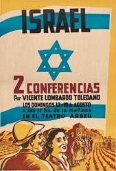 Israel. 2 conferencias por Vicente Lombardo Toledano (Israel. Two Lectures by Vicente Toledano)