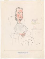William Anthony, Drawing after Hockney IV
