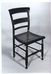 Hitchcock-type side chair