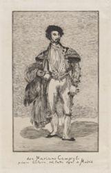 Don Mariano Camprubi primer bailarin del teatro royal de Madrid (Don Mariano Camprubi first dancer of the Teatro Royal de Madrid)