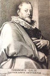 Theodorus Galle, from the series Icones principum virorum (Iconography)
