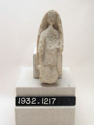 Statuette of woman with shawl