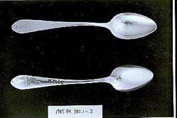 Three teaspoons