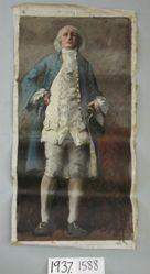 Figure Study of Benjamin Franklin, for The Apotheosis of Pennsylvania, House of Representatives Chamber, Pennsylvania State Capitol, Harrisburg