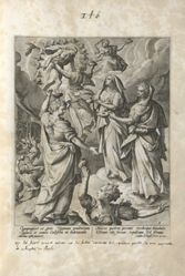The Wise Virgins Received by the Bridegroom, Christ, pl. 6 of 8 from the series Parable of the Five Wise and Foolish Virgins