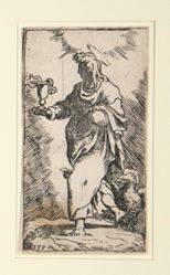 Saint John, from the series Christ and the Twelve Apostles