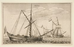 Dutch Cargo Ships, from the series Navium Variae Figurae et Formae