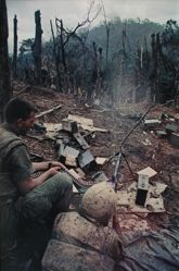 """""""Operation Prairie"""", near the DMZ, from the series: Larry Burrows: Vietnam, The American Intervention 1962 - 1968"""
