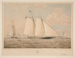 """The Schooner Yacht """"America"""""""