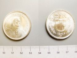 5 Francs of Switzerland