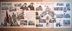 Elagu sangarlik Eesti Tallinna Laskurkorpus - eesti rahva au ja uhkus! (Long live the heroic Estonian Rifle Corps of Tallinn – the pride and honor of the Estonian people!), from the series Fotolent No. 11-12 (June 1945)