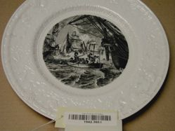 Plate (Perry's Victory on Lake Erie)