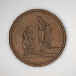 John Trumbull American Art-Union Medal