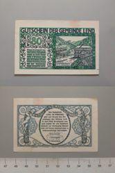80 Heller from Lend, Notgeld