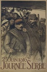 25 Juin 1916 Journée Serbe (25 June 1916 Serbia Day)