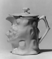 Satyr's Head Toby Pitcher and Cover