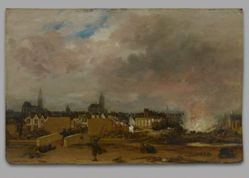 The Explosion of the Powder Magazine in Delft, 1654