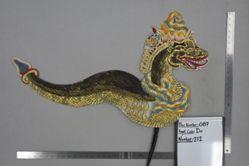 Shadow Puppet (Wayang Kulit) of Antaboga, from the set Kyai Drajat