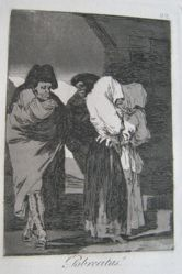 Pobrecitas! (Poor Little Girls!), pl. 22 from the series Los caprichos