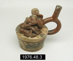 Stirrup Vessel with Sex Scene