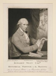 Benjamin West Esq.r / Historical Painter to His Majesty