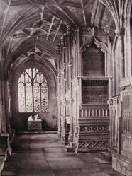 Interior: Christchurch, Hampshire