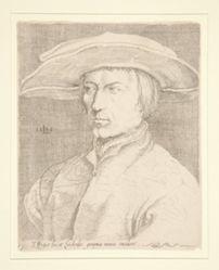 Self-Portrait of the Artist, 1525 [Portrait of a man, so-called Lucas van Leyden, self-portrait]
