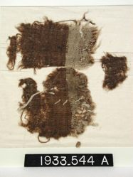 Wool Fragment with Brown Band