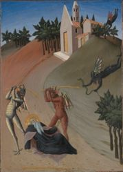 Saint Anthony Abbot Tormented by Demons