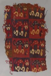Fragment from a Checkerboard Tunic