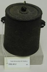 Iron Kettle with Lid