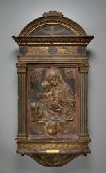 Virgin and Child with St. John the Baptist and Three Cherubs
