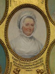 Mrs. Jonathan Trumbull, Sr.  (Faith Robinson) (1718-1780)
