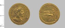 Aureus of Caracalla, Roman Emperor from Rome