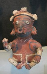 Nayarit seated figure