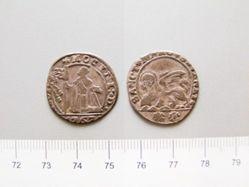Silver 15 Soldi of Alvise Mocenigo IV from Venice