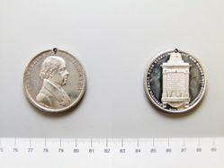 Silver medal of William Knibb